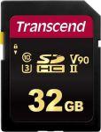 Transcend 700S 32GB Uhs-ii U3 V90 Class 10 Sdxc Card - Mlc