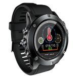ViviStar Smartwatch Color Screen Bluetooth Blood Pressure Heart Rate Waterproof Sports