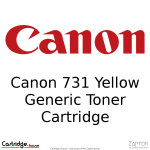 Canon 731 Yellow Compatible Toner Cartridge