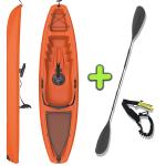 ANAC Sports Recreational Kayak with Free Paddle & Paddle Leash