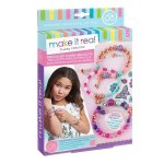 Make It Real- Bedazzled Charm Bracelets - Graphic Jungle