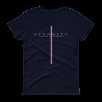 Azaliah Eternity Ladies Short Sleeve T-Shirt - Navy S
