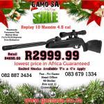 Gamo Replay 10 Maxxim 4.5 Cal Christmas Special