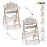 Hauck South Africa Beta + Highchair - Whitewashed