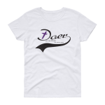 Azaliah Doer Of The Word Ladies Short Sleeve T-Shirt - White 2XL