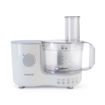 Kenwood FP120 Food Processor in White