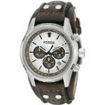 Discountwatches_SA Fossil Men's Ch2565 Cuff Chronograph Tan Leather Watch Parallel Import