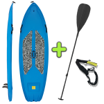 ANAC Sports Stand Up Paddle Board with Free Paddle & Paddle Leash