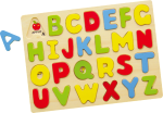 Msk Alphabet Wooden Tray - Capital Letters