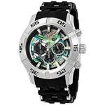 Discountwatches_SA Invicta Men's 6713 Sea Spider Collection Chronograph Black Ion-plated Stainless Steel Watch