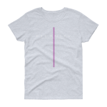 Azaliah Eternity Ladies Short Sleeve T-Shirt - Grey Heather M
