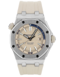 Audemars Piguet Royal Oak Offshore Stainless Steel Beige Automatic Men's Watch