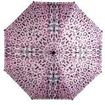 CARAMIA Pawberry Safari Auto Umbrella Pink black