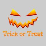 Trick Or Treat Sweater Grey
