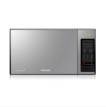 Samsung MS405MADXBB Microwave With Black Glass Mirror 40 L