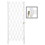 Securador Slam Lock Security Gate 820MM X 2000MM - White 820MM X 2000MM