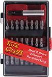 Tork Craft Insert Bit Set 19pce With Screw Finder
