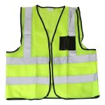 Pinnacle Welding & Safety Reflective Safety Vest - Lime Reflective-safety-vest-lime-large