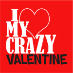 Crazy Valentine Hoodie Black