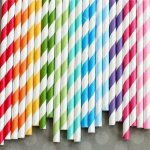 Bakers Boutique Paper Straws Black