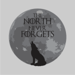 The North Remembers Sweater Grey
