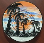 Beach Vibe African Grater Plate