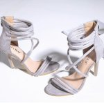 Lollipop Lingerie Sexy Suede Silver Strappy High Heels Shoes 4-UK-AND-RSA