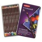 Derwent Coloursoft Pencils - Set Of 12