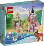 Lego Disney Ariel Aurora And Tiana's Royal Celebration
