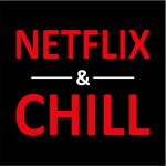 NETFLIX & Chill Sweater Black