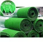 Ahmeds Textiles Artificial Grass 8mm in Green