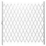 Saftidor H Slamlock Security Gate - 1950MM X 2000MM White