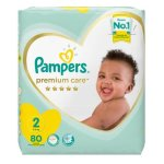 Pampers Premium Care Size 2 80 Pants