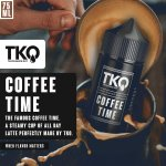 Tko E-liquid - Coffee Time - 75ML 3MG