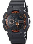 Casio G-Shock Analog Digital Watch GA110TS-1A4