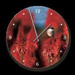 Clock With Art Of Nature Shrike Image