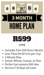 3 Month 500g Home Subscription