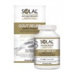 Solal Gout Relief Cherry Extract 60 Capsules