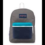 JanSport Exposed Backpack Shady Grey white