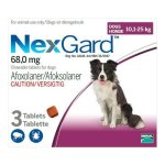 Nexgard 3g 3 Doses in Purple for 10.1-25kg Large Dogs