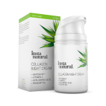 InstaNatural - Collagen Night Anti Aging Cream - Anti Wrinkle Moisturizer For Face & Neck- Helps Reduce Appearance Of Wrinkles &