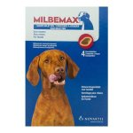 Milbemax 4 Chews Chewables for Large Dogs Above 5kg
