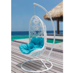 Chair Hanging White blue