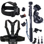 Smatree 13-IN-1 Outdoor Sports Essentials Accessories Kit For Gopro Hero 6 5 4 3+ 3 2 1