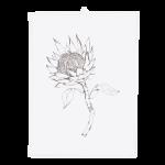 Dishy Designs Protea Tea Towel
