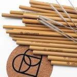Earth Warrior Reusable Bamboo Straws