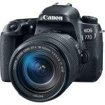 Canon Eos 77D Dslr Camera + 18-135MM F3.5-5.6 Is Usm Lens