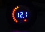 12V Colorful Voltmeter Round