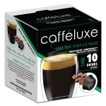 CaffeLuxe Capsules Compatible Americano Coffee Dolce Gusto