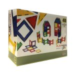 Playmag 48 Piece Magnetic Building Panels